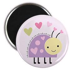 Purple Ladybug Magnet