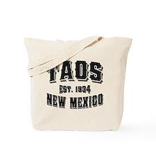 Taos Old Style Black Tote Bag