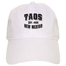 Taos Old Style Black Baseball Cap