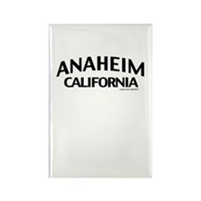 Anaheim Rectangle Magnet