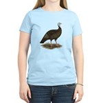 Turkey: Eastern Wild Hen Women's Light T-Shirt