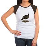 Turkey: Eastern Wild Hen Women's Cap Sleeve T-Shir