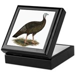 Turkey: Eastern Wild Hen Keepsake Box