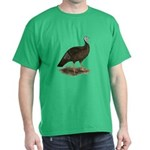 Turkey: Eastern Wild Hen Dark T-Shirt