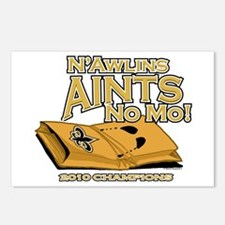 N'Awlins Aints No MO Postcards (Package of 8)