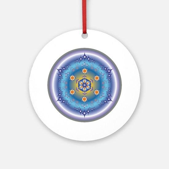 Divive Harmony Mandala Ornament (Round)