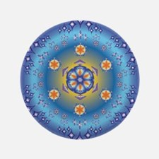 "Divive Harmony Mandala 3.5"" Button"