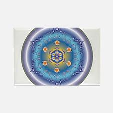 Divive Harmony Mandala Rectangle Magnet (10 pack)