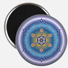 "Divive Harmony Mandala 2.25"" Magnet (100 pack)"