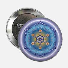 "Divive Harmony Mandala 2.25"" Button"