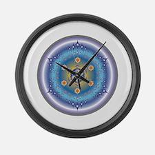 Divive Harmony Mandala Large Wall Clock