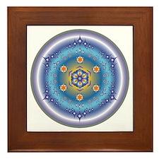Divive Harmony Mandala Framed Tile
