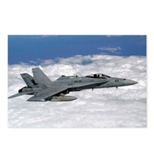 U.S. Navy F/A-18C Hornet Postcards (Package of 8)