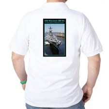USS Wisconsin (BB 64) T-Shirt