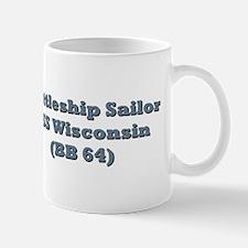 USS Wisconsin (BB 64) Mug from Freedom Express