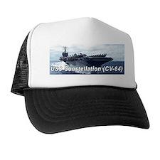 USS Constellation (CV 64) Trucker Hat