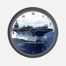 USS Constellation (CV 64) Wall Clock