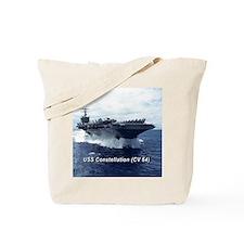 USS Constellation (CV 64) Tote Bag