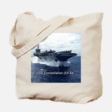 USS Constellation (CV 64) Tote Bag