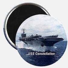"""USS Constellation (CV 64) 2.25"""" Magnet"""