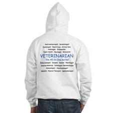 Veterinarian The All-In-One D Hoodie