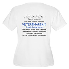 Veterinarian The All-In-One D T-Shirt