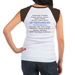 Veterinarian The All-In-One D Women's Cap Sleeve T