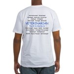 Veterinarian The All-In-One D Fitted T-Shirt