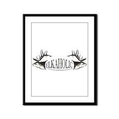 Elkoholic Framed Panel Print
