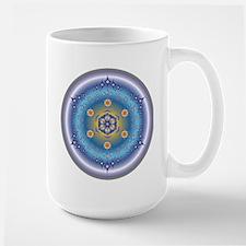 Divive Harmony Mandala Large Mug