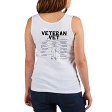 Veteran Vet Female Women's Tank Top