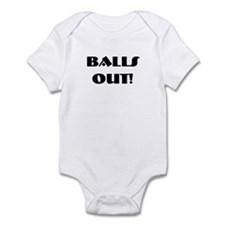 Balls out! Infant Creeper