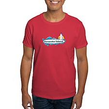 Ocracoke Island - Surf Design T-Shirt