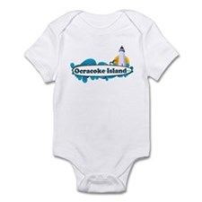 Ocracoke Island - Surf Design Infant Bodysuit