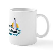 Ocracoke Island - Surf Design Mug