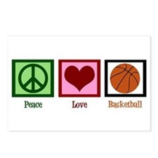 Peace Love Basketball Postcards (Package of 8)