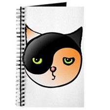 Ying Yang Yin Yang Cat Calico Journal