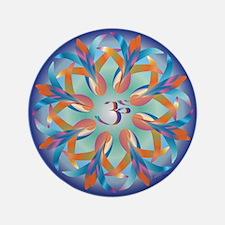 "OM AUM 3.5"" Button (100 pack)"