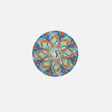 OM AUM Mini Button