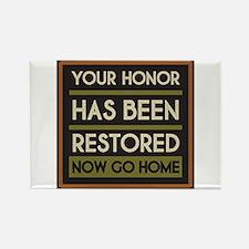 Cute Restoring honor 8 28 Rectangle Magnet (10 pack)