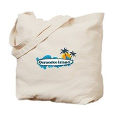 Ocracoke Island - Surf Design Tote Bag