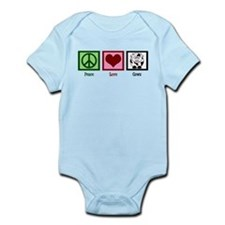 Peace Love Cows Infant Bodysuit