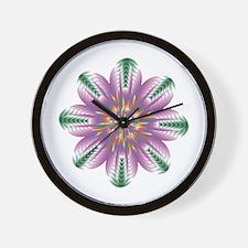 Divive Harmony Mandala Wall Clock