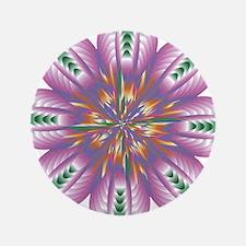"Divive Harmony Mandala 3.5"" Button (100 pack)"