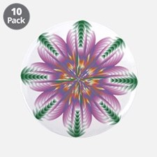 "Divive Harmony Mandala 3.5"" Button (10 pack)"
