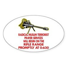Terrorist Prayer Services Decal