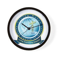 Living Water UCC Logo Wall Clock