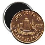 New Orleans 250th Medallion 2.25