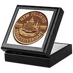 New Orleans 250th Medallion Keepsake Box
