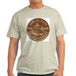 New Orleans 250th Medallion Ash Grey T-Shirt